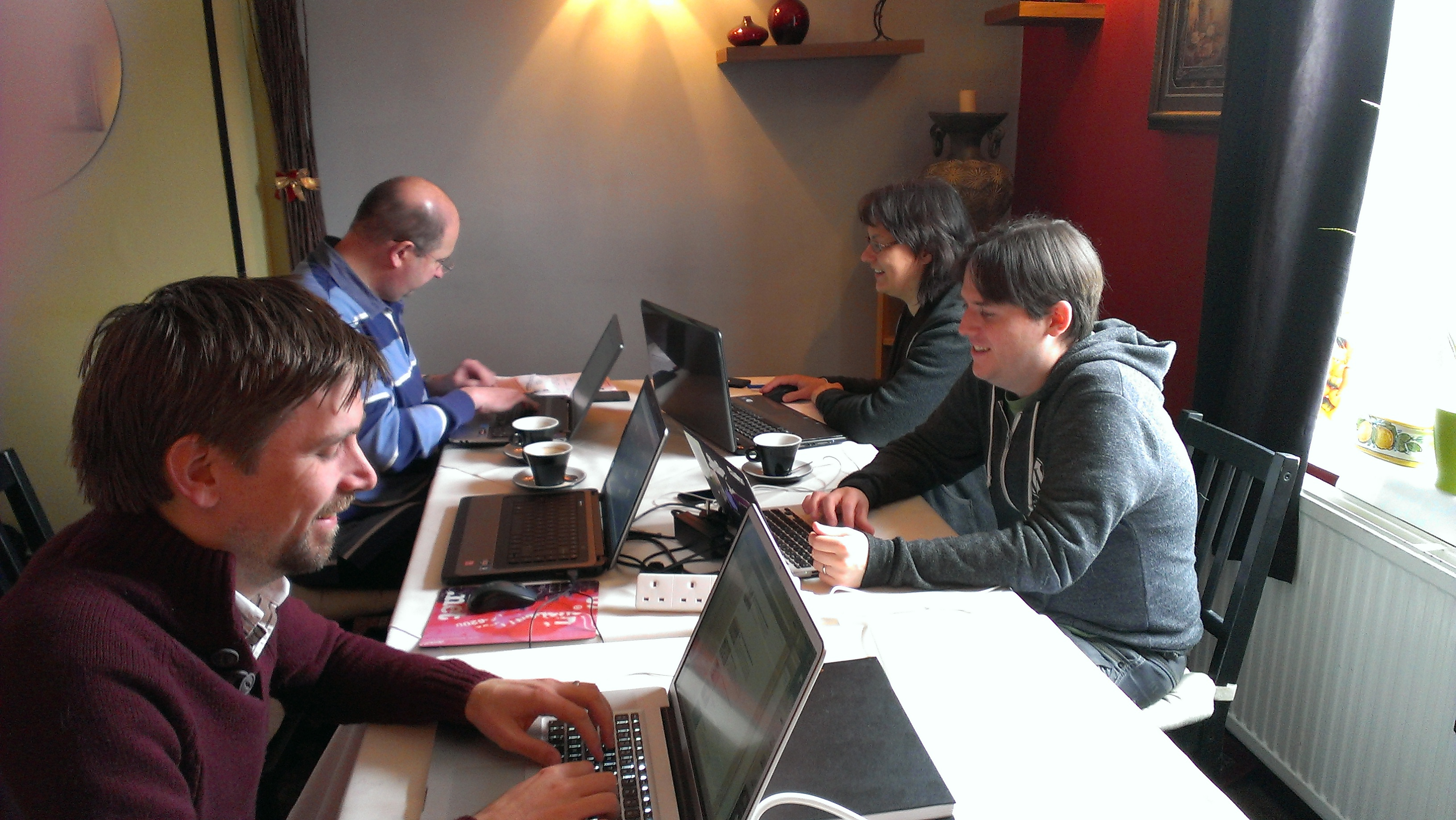 Working at a Horsham Coworking day